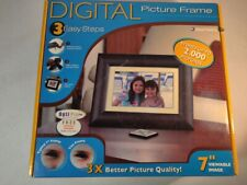 Optipix Pro 7-inch Digital Picture Frame - NEW