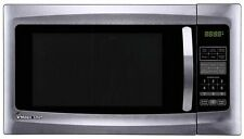 Stainless Steel Countertop Microwave Oven 1.6 cu. Ft. Modern Kitchen Decor 1100W