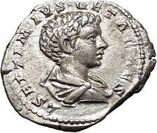 GETA as Caesar Laodicea Ad Mare RARE Silver Ancient Roman Coin Good luck i51044