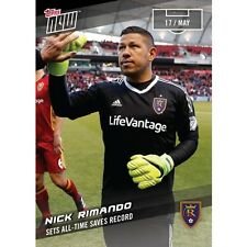 Nick Rimando 2017 Topps Now MLS #35 - /47* - Sets All-Time Saves Record