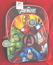 """Marvel Kid's Backpack """"Avengers Age of Ultron"""" with Color Changing Lights"""