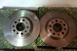 Alfa Romeo 159 spider brera pair rear 292mm break discs LPB BD1312V 46843611