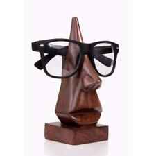 Wooden Face Shaped Spectacle Specs, Eyeglass Holder For  Gift- Free Shipping