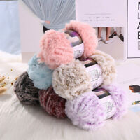 50g Soft Hand Knitting Yarn Warm Fur Baby Yarn Sweater Scarf Hat Imitation Mink