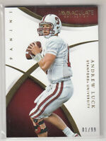 ANDREW LUCK 2015 Panini Immaculate Collection Collegiate Multisport #6 1/99 1/1
