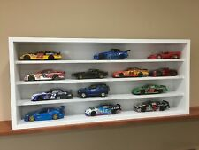 Display case cabinet shelves for diecast collectibles (cars 1/25) others 4CPW-1