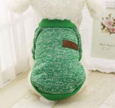 DOG CLOTHES PET WINTER COTTON SWEATER CAT CLOTHING WARM APPAREL COAT US