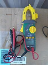 COMMERCIAL ELECTRIC Multimeter MS2033C 600A AC Digital Clamp Meter with cables