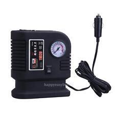 Air Compressor Portable Pump 300PSI Auto Car SUV Tire 12V Volt + 3 Adapter