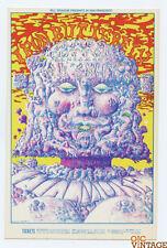 Bill Graham 157 Postcard Ad Back Iron Butterfly James Cotton 1968 Jan 16
