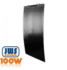 Solar panel flexible 100W Backcontact 12 V Semi flex flexibel Mono Black Edition