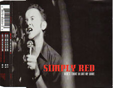 "SIMPLY RED ""AIN'T THAT A LOT OF LOVE"" RARE CD MAXI"