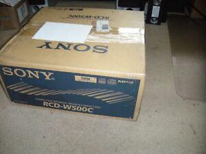 Sony RCD-W500C 5 CD Changer/CD Recorder Complete Original Box
