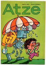 DDR ATZE Heft 5/1975 FDJ Verlag Junge Welt Fix und Fax *AZ39