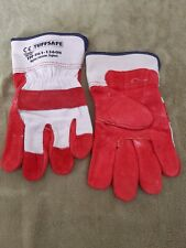 Tuffsafe Red Rigger Gloves ** New Unused **  PPE Protective Wear