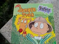 Jungle Trek (Rugrats) St. Pierre, Stephanie Paperback Book Nickelodeon Nick Jr