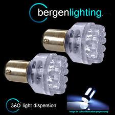 380 BAY15D 1157 XENON WHITE 24 DOME LED STOP TAIL BRAKE LIGHT BULBS ST200401