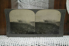 lot of 2 antique old WWI PHOTOS British anti-aircraft gun Shells French village