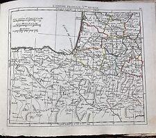 FRANCE/ L´ FRANCE.Empire In English. Golfe de Vizcaya. E. Hérisson,Paris,1806