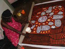 "ABORIGINAL ART PAINTING by NARPULA SCOBIE NAPURRULA ""WOMEN'S CEREMONY"" Authentic"