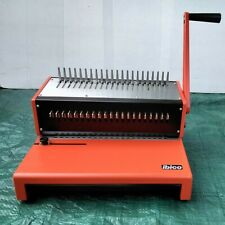 More details for ibico comb binder complete with mixed bindings combs & covers as photos vgc