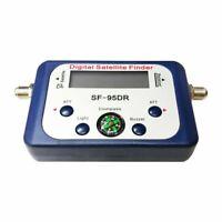 SF-95DR Digital Satellite Finder Meter TV Signal Receiver Sat Decoder Compass bs