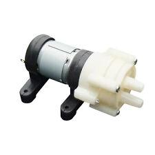 R385 Pump&base Aquarium Fish Tank Water Air Diaphragm Pump 1.5-2L/Min DC12V E