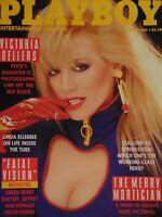 Playboy April 1986 | Victoria Sellers Linda Ellerbee Teri Weigel #1518#2464