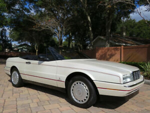 1990 Cadillac Allante Convertible only 29k Miles! Simply Stunning!