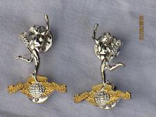 ROYAL SIGNALS,Collar Badges,English,Collar Badges, Pair, with Pins
