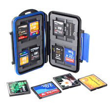 SD CF XD TF Memory Card Storage Carrying Case Protecter Waterproof Box Holder