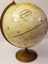 "Replogle Globes Globemaster 12"" World Globe With Metal Base"