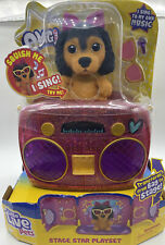 Little Live OMG Pets Have Talent, Puppy Dog with Transforming Stage & Bag