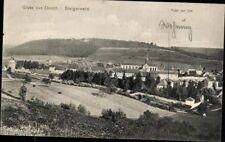 Ansichtskarte PK sw Gruss aus Ebrach Steigerwald Total v. Ost Stadtansicht 1911