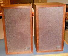 VTG 1970'S PAIR CRITERION 77 SPEAKERS 30 WATT 99-02321WX H. F. RANGE 8 OHM WOOD