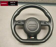 GENUINE AUDI A4 A5 B8 S LINE  FLAT BOTTOM STEERING WHEEL AND AIRBAG