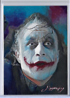 Emma Parrish Signed LIMITED EDITION PRINT of Original JOKER,HEATH LEDGER