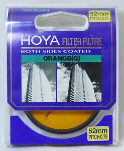 Hoya 52mm Orange O (G) Filter - Brand New & Sealed