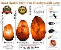 Himalayan Pink Salt Lamp Natural Rock salt lamp Salt Lamp Ioniser - 100% Genuine