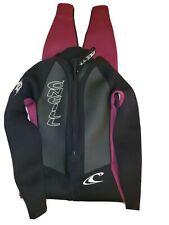 Oneill Wetsuit size 6 M women black zip