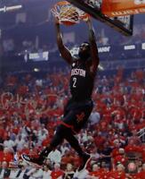 Patrick Beverley Autographed Rockets 8x10 Dunking Photo- TriStar Authenticated