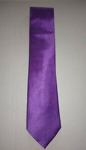 "ZEGNA CLASSIC TIE - PURPLE - NEW(OTHER)  3½""Wide X 59"" Long MSRP $205"