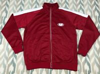Wu Wear Wu Tang Clan Men's United Track Full Zip Jacket Red / White Size L Large
