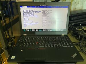 LENOVO THINKPAD P51 INTEL XEON E3-1535M V6 3.1GHZ, 16GB RAM NO HDD 20HH000DUS
