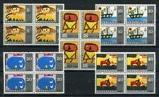 Nederland Kinderzegels 1965 849-853 blokken v 4 - cat waarde € 14,80