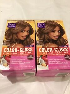 Dark and Lovely Color-Gloss Hair Color 06 Light Brown 2 Pack