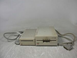 Lot of 2 Defective Apple IIe Floppy Drives 1x A9M0106 1x A9M0107