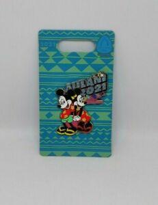 Aulani Mickey and Minnie Mouse Ko Olina Hawaii Disney Pin