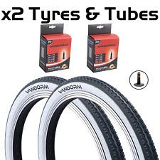 "20"" x 1.75"" Vandorm White Wall Retro Tyre For Raleigh Shopper / Fold Up Bike"