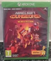 Minecraft Dungeons Hero Edition For The Microsoft Xbox 1 * New & Sealed * Pegi 7